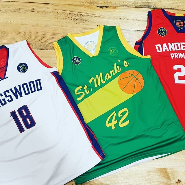 Primary School Basketball uniforms free…. at VPS BL